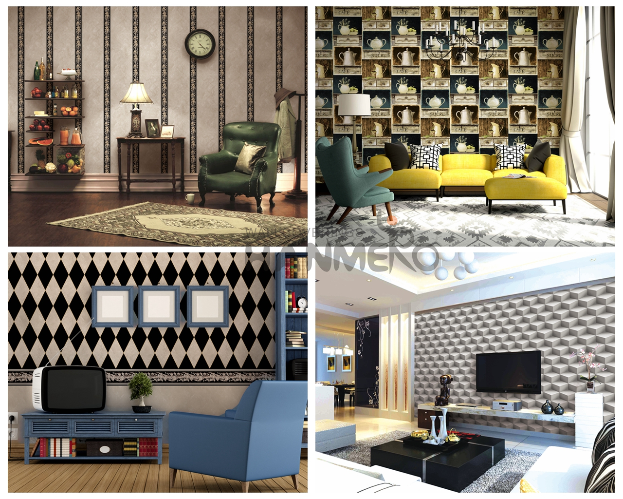 D50 PVC Wallpaper Design
